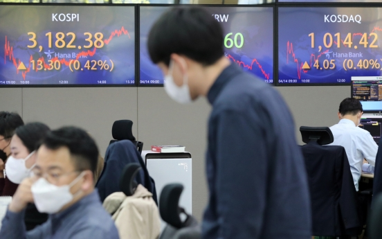 Seoul stocks up for 3rd day on strong jobs data, eased inflation woes