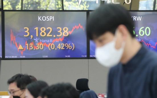S. Korea's stock market cap hits new high