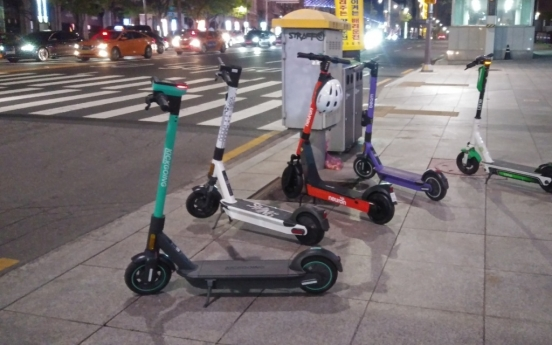 [Seoul Struggles 5] Electric scooters, the urban 'beasts' of Seoul