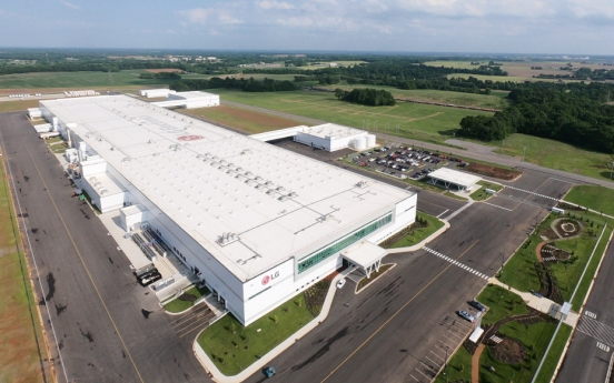 LG Electronics to invest $20.5m in US washing machine plant expansion