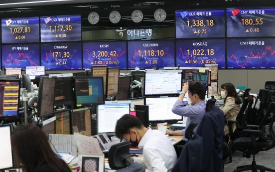 Seoul stocks nearly flat on valuation pressure