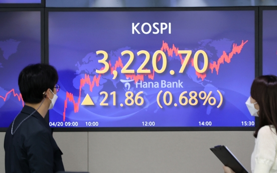 KOSPI soars to all-time high on recovery hopes