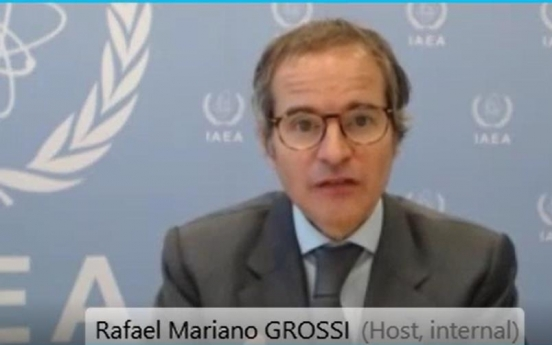 IAEA chief 'certainly' hopes S. Korea takes part in Fukushima water monitoring