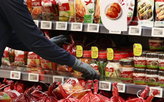 Kimchi exports hit all-time high in Q1