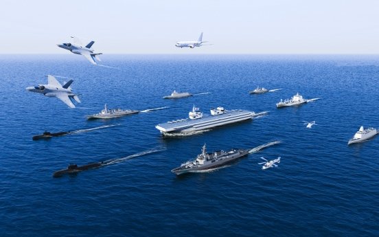 Navy reaffirms commitment to aircraft carrier project
