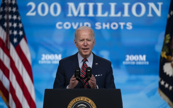 Biden remarks pour cold water on Seoul's 'vaccine swap' idea