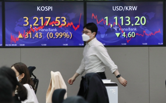 Seoul stocks up for 3rd day on recovery hopes, vaccination campaign