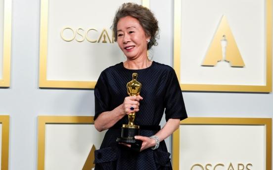 'Congratulations Youn Yuh-jung' heard all around