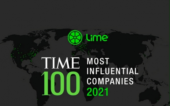 Lime makes Time's list of 100 most influential companies