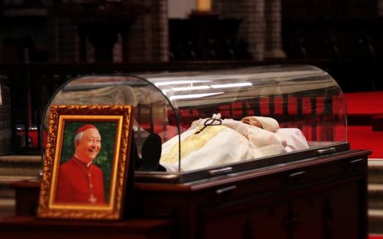 Cardinal Nicholas Cheong Jin-suk dies at 89