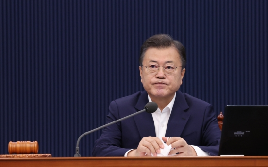 Moon's approval rating hits record low of 29%: Gallup