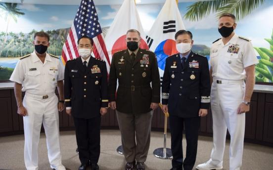 S. Korea, US and Japan discuss expanding security ties