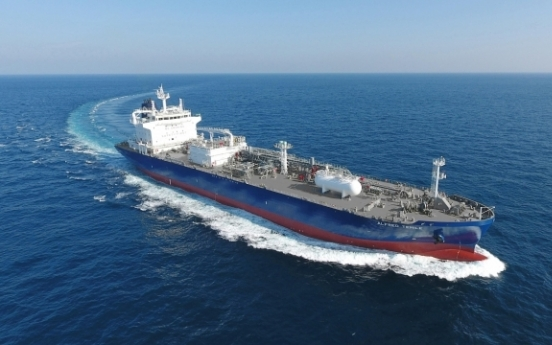 Korean shipbuilders account for over 70% of LPG carrier orders