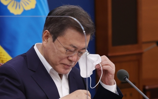 Moon's approval rating at all-time low of 33%: Realmeter
