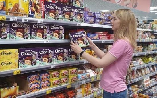 S. Korean snack firms log brisk overseas sales in 2020