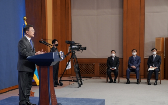 [News Focus] Moon's leaflet stance effort to manage NK ties before summit with Biden: experts