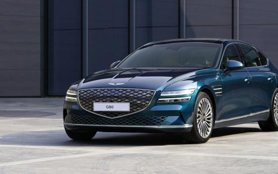 Genesis vehicle sales exceed 500,000 in past 5 years