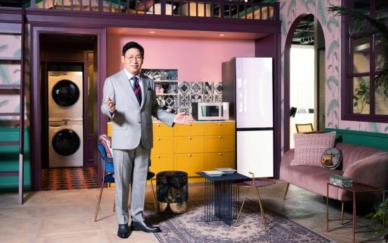 Samsung's Bespoke appliances make global debut