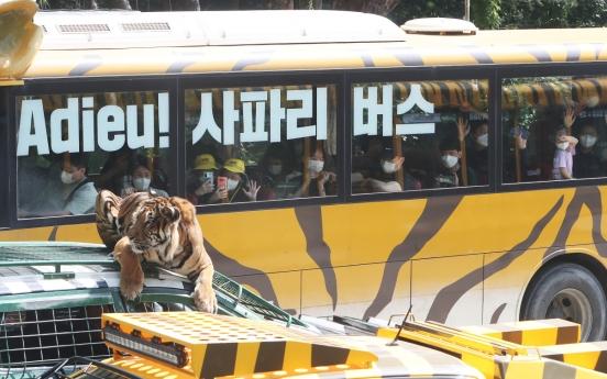 [Photo News] Farewell to Safari Bus, Hello to Wild Tram