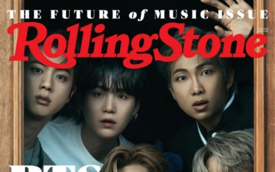[Today's K-pop] BTS graces cover of Rolling Stone