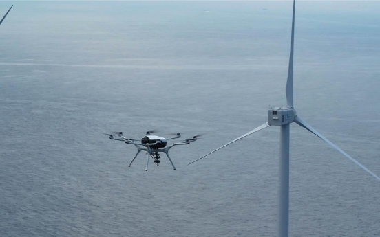 S. Korea purchases hydrogen powered-drones for pilot operation