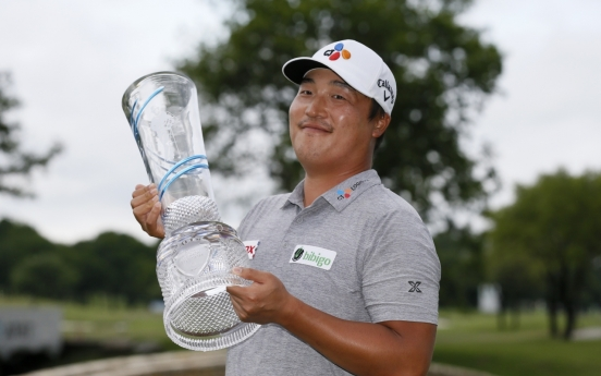 Fresh off 1st PGA win, Lee Kyoung-hoon closes in on Olympic berth