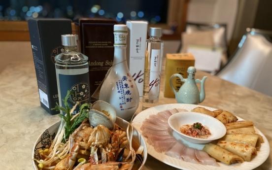 [Weekender] Tired of green-bottle rotgut, drinkers turn to traditional soju