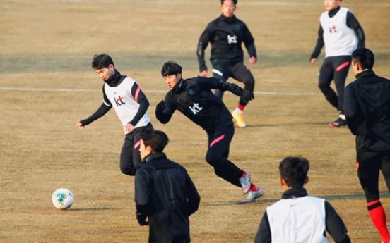 S. Korea to face Ghana in Olympic men's football tuneups