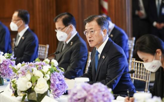 Moon-Biden joint statement may acknowledge Panmunjeom Declaration