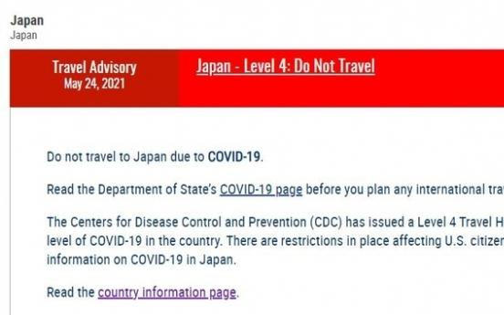 [Newsmaker] US raises travel advisory on Japan to highest Level 4: Do Not Travel