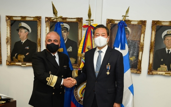 Veterans affairs minister in Colombia to express thanks for Korean War participation