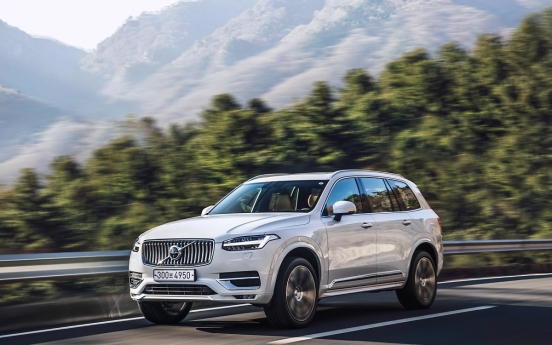 [Behind the Wheel] Solid family vehicle Volvo XC90 made more eco-friendly with B6 engine