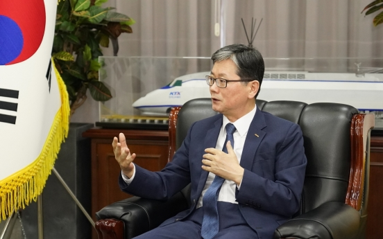[Herald Interview] Korail CEO Son Byung-seok maps out new future