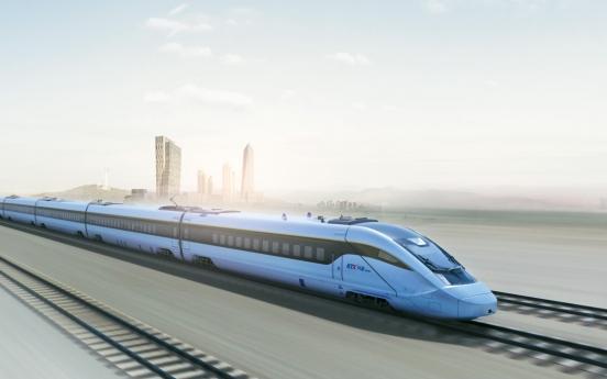 Eco-friendly KTX-Eum showcases homegrown high-speed train technology