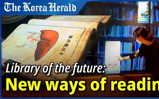 [Video] Library goes digital, this time with interactive twist