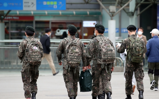 3 soldiers, 2 airmen test positive for coronavirus
