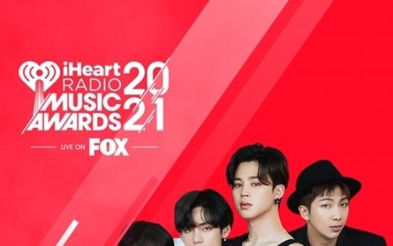 [Today's K-pop] BTS wins 2 iHeartRadio awards