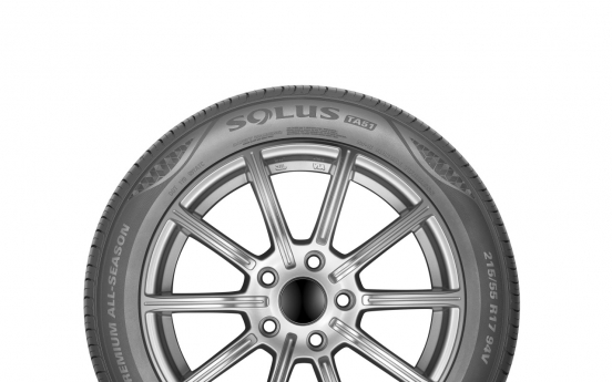 Kumho Tire aims to lead local tire market with SOLUS TA51