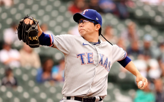Rangers' Yang Hyeon-jong yanked early in loss to Mariners