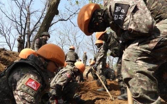 S. Korea discovers more Korean War remains in DMZ