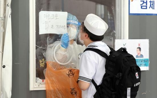 Military reports 6 more coronavirus cases