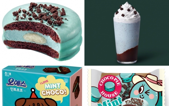 [Newsmaker] Backed by loyal fans, mint chocolate boom sweeps Korea