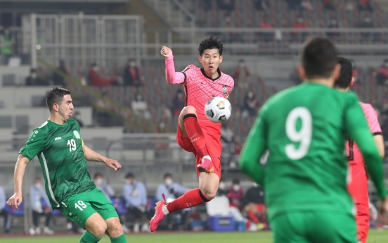 S. Korea take step toward redemption with dominant performance in World Cup qualifier