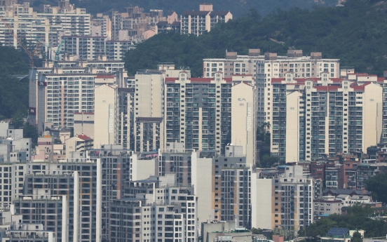 Apartment prices in greater Seoul grow over 1% for 5th month in May: data