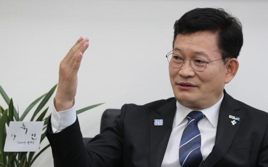 Ruling party chief hints at Samsung scion's pardon