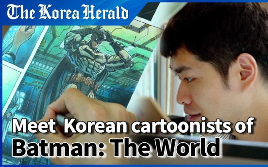 [Herald interview] 'It's not Koreanness that matters in our story, only Batman'