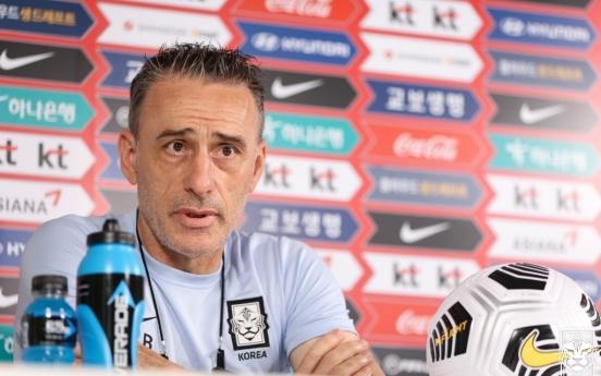 S. Korea coach not fixing what's not broken ahead of World Cup qualifier
