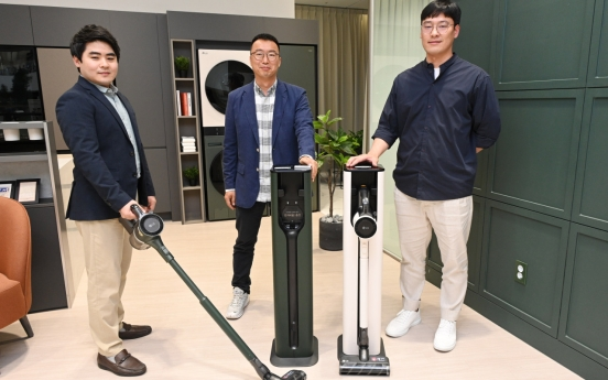 [Herald Interview] LG automates vacuum cleaner dust removal