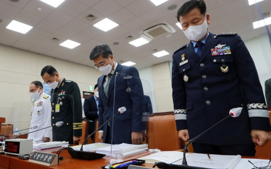 [Newsmaker] Defense chief vows strict punishment in sex crime probe