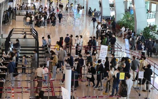 Korea eyes travel bubbles with Singapore, Guam, Saipan